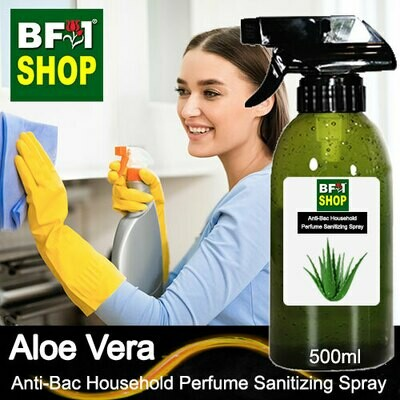 Anti-Bac Household Perfume Sanitizing Spray (ABHP) - Aloe Vera - 500ml