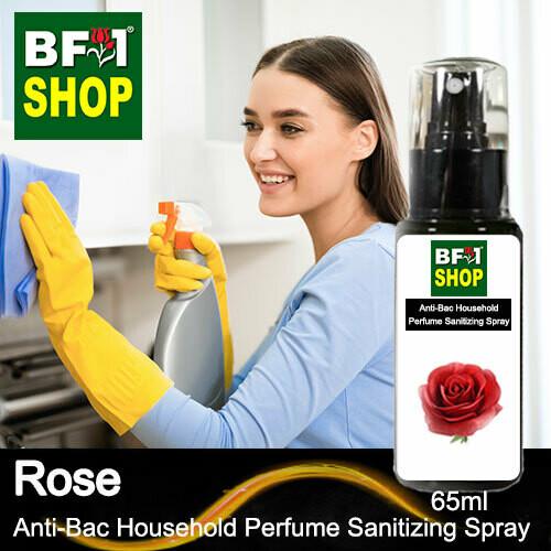 Anti-Bac Household Perfume Sanitizing Spray (ABHP) - Rose - 65ml