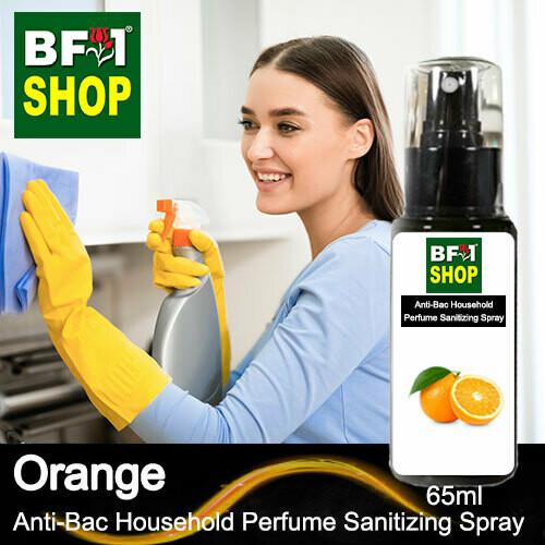 Anti-Bac Household Perfume Sanitizing Spray (ABHP) - Orange - 65ml
