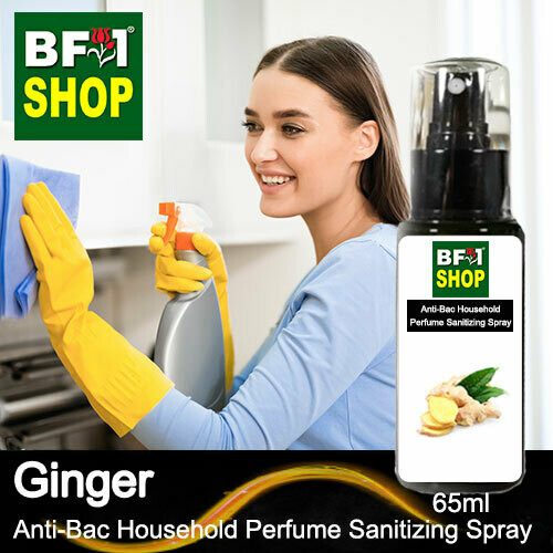 Anti-Bac Household Perfume Sanitizing Spray (ABHP) - Ginger - 65ml