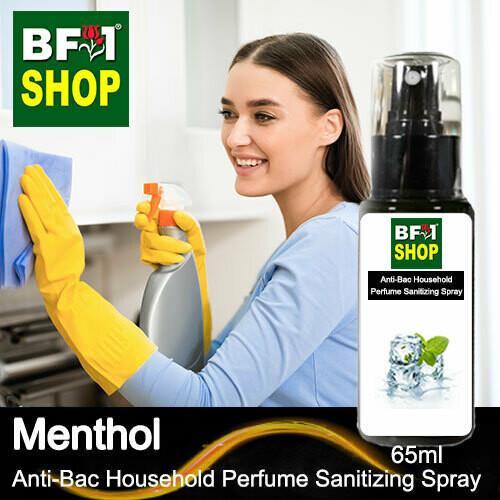 Anti-Bac Household Perfume Sanitizing Spray (ABHP) - Menthol - 65ml
