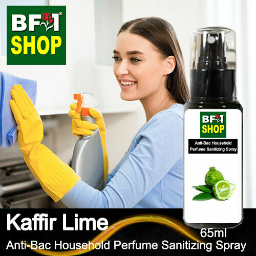 Anti-Bac Household Perfume Sanitizing Spray (ABHP) - lime - Kaffir Lime - 65ml