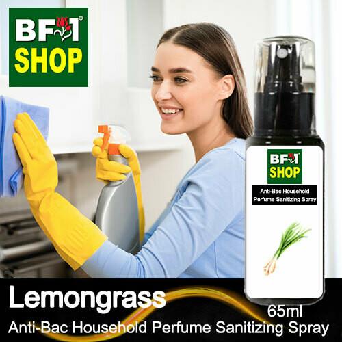 Anti-Bac Household Perfume Sanitizing Spray (ABHP) - Lemongrass - 65ml