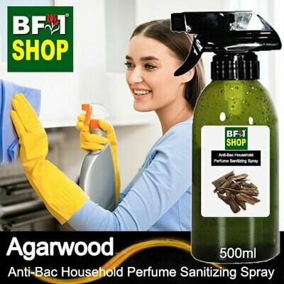 Anti-Bac Household Perfume Sanitizing Spray (ABHP) - Agarwood - 500ml