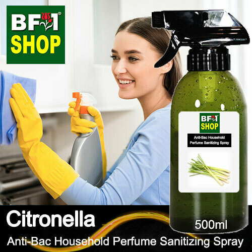 Anti-Bac Household Perfume Sanitizing Spray (ABHP) - Citronella - 500ml