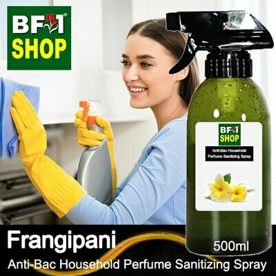 Anti-Bac Household Perfume Sanitizing Spray (ABHP) - Frangipani - 500ml