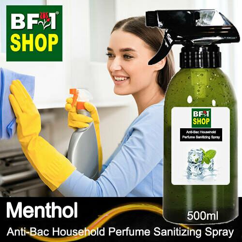 Anti-Bac Household Perfume Sanitizing Spray (ABHP) - Menthol - 500ml