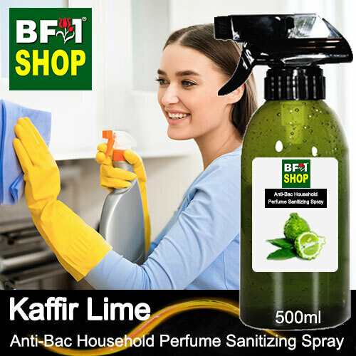 Anti-Bac Household Perfume Sanitizing Spray (ABHP) - lime - Kaffir Lime - 500ml