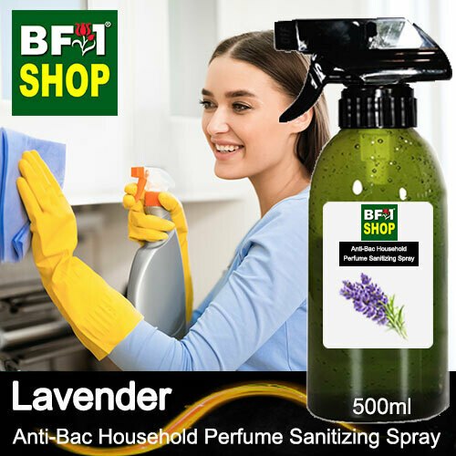 Anti-Bac Household Perfume Sanitizing Spray (ABHP) - Lavender - 500ml