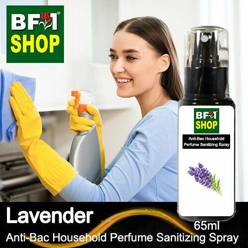 Anti-Bac Household Perfume Sanitizing Spray (ABHP) - Lavender - 65ml