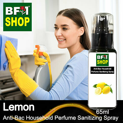 Anti-Bac Household Perfume Sanitizing Spray (ABHP) - Lemon - 65ml