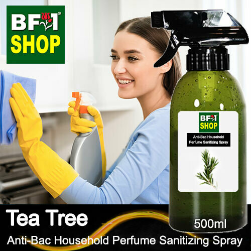 Anti-Bac Household Perfume Sanitizing Spray (ABHP) - Tea Tree - 500ml