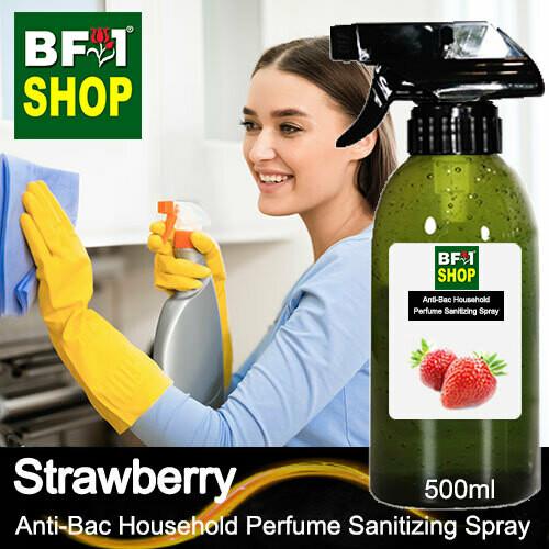 Anti-Bac Household Perfume Sanitizing Spray (ABHP) - Strawberry - 500ml