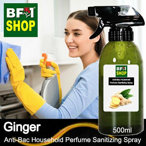 Anti-Bac Household Perfume Sanitizing Spray (ABHP) - Ginger - 500ml