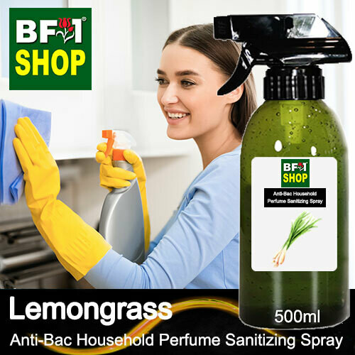 Anti-Bac Household Perfume Sanitizing Spray (ABHP) - Lemongrass - 500ml