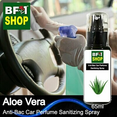 Anti-Bac Car Perfume Sanitizing Spray (ABCP) - Aloe Vera - 65ml
