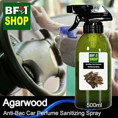 Anti-Bac Car Perfume Sanitizing Spray (ABCP) - Agarwood - 500ml