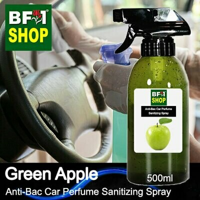 Anti-Bac Car Perfume Sanitizing Spray (ABCP) - Apple - Green Apple - 500ml