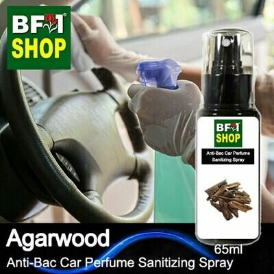Anti-Bac Car Perfume Sanitizing Spray (ABCP) - Agarwood - 65ml