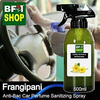Anti-Bac Car Perfume Sanitizing Spray (ABCP) - Frangipani - 500ml