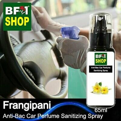 Anti-Bac Car Perfume Sanitizing Spray (ABCP) - Frangipani - 65ml