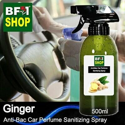 Anti-Bac Car Perfume Sanitizing Spray (ABCP) - Ginger - 500ml