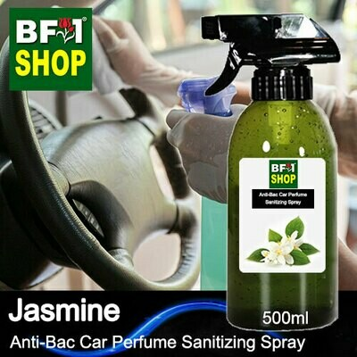 Anti-Bac Car Perfume Sanitizing Spray (ABCP) - Jasmine - 500ml