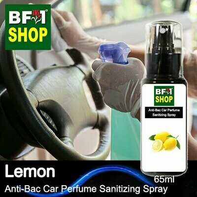 Anti-Bac Car Perfume Sanitizing Spray (ABCP) - Lemon - 65ml