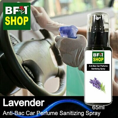 Anti-Bac Car Perfume Sanitizing Spray (ABCP) - Lavender - 65ml