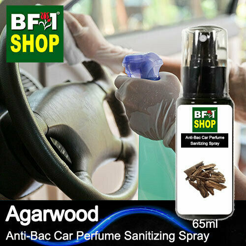 Anti-Bac Car Perfume Sanitizing Spray (ABCP) - Agarwood - 65ml