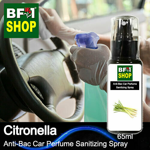 Anti-Bac Car Perfume Sanitizing Spray (ABCP) - Citronella - 65ml