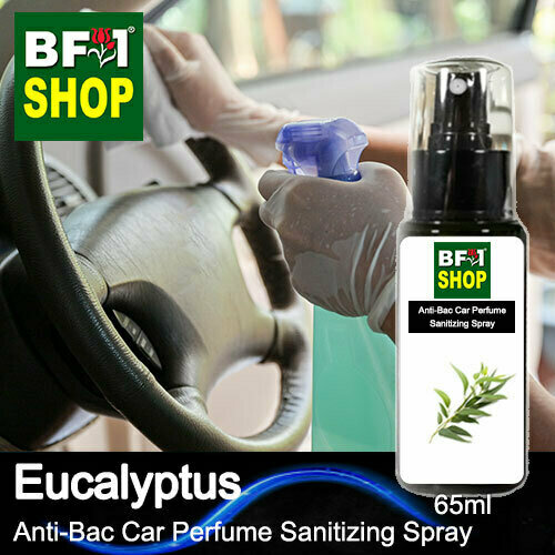 Anti-Bac Car Perfume Sanitizing Spray (ABCP) - Eucalyptus - 65ml