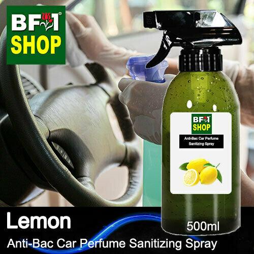 Anti-Bac Car Perfume Sanitizing Spray (ABCP) - Lemon - 500ml