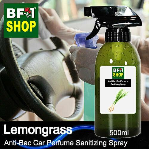 Anti-Bac Car Perfume Sanitizing Spray (ABCP) - Lemongrass - 500ml