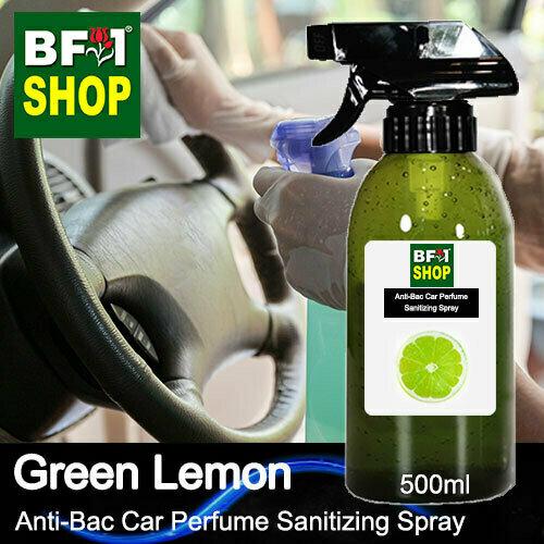Anti-Bac Car Perfume Sanitizing Spray (ABCP) - Lemon - Green Lemon - 500ml