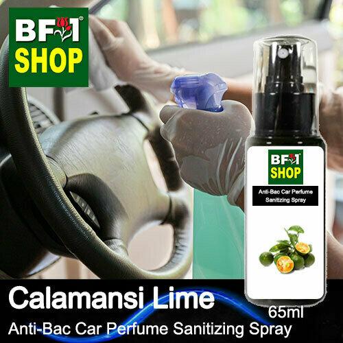 Anti-Bac Car Perfume Sanitizing Spray (ABCP) - lime - Calamansi Lime - 65ml