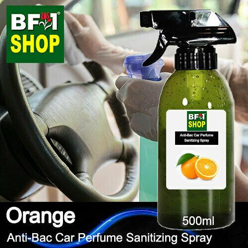 Anti-Bac Car Perfume Sanitizing Spray (ABCP) - Orange - 500ml