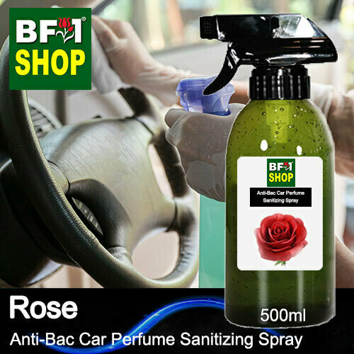 Anti-Bac Car Perfume Sanitizing Spray (ABCP) - Rose - 500ml