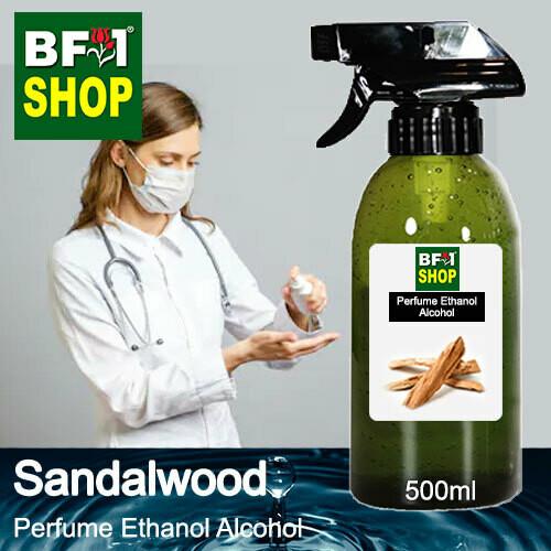 Perfume Alcohol - Ethanol Alcohol 75% with Sandalwood - 500ml