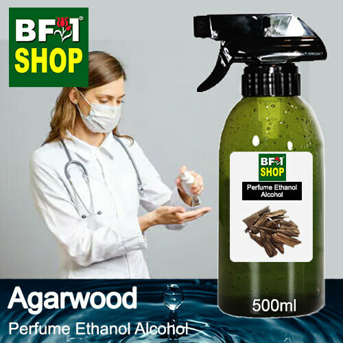 Perfume Alcohol - Ethanol Alcohol 75% with Agarwood - 500ml
