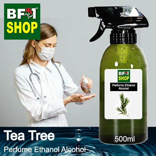 Perfume Alcohol - Ethanol Alcohol 75% with Tea Tree - 500ml