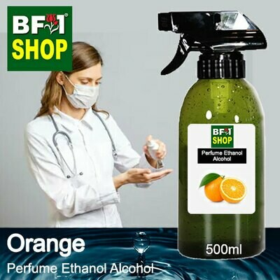 Perfume Alcohol - Ethanol Alcohol 75% with Orange - 500ml
