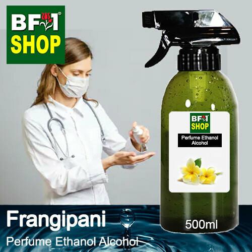 Perfume Alcohol - Ethanol Alcohol 75% with Frangipani - 500ml