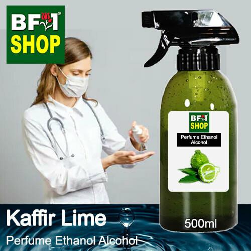 Perfume Alcohol - Ethanol Alcohol 75% with lime - Kaffir Lime - 500ml