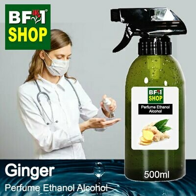 Perfume Alcohol - Ethanol Alcohol 75% with Ginger - 500ml