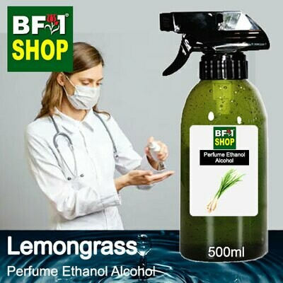 Perfume Alcohol - Ethanol Alcohol 75% with Lemongrass - 500ml