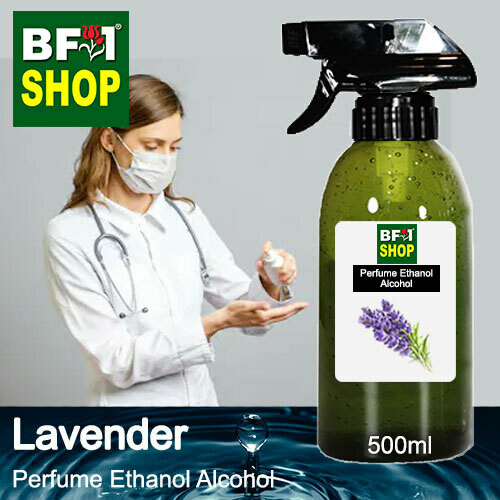 Perfume Alcohol - Ethanol Alcohol 75% with Lavender - 500ml