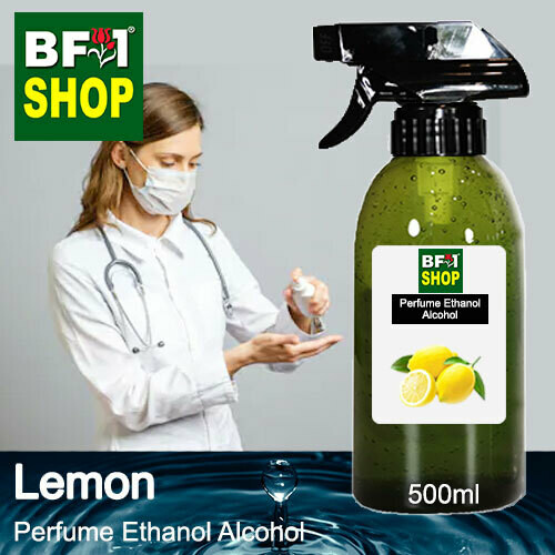 Perfume Alcohol - Ethanol Alcohol 75% with Lemon - 500ml