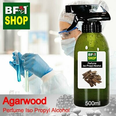 Perfume Alcohol - Iso Propyl Alcohol 75% with Agarwood - 500ml