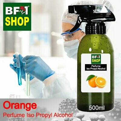 Perfume Alcohol - Iso Propyl Alcohol 75% with Orange - 500ml